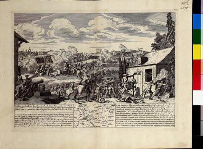 Vorstellung der Bataille bei Crevelt in dem Fürstenthum Meurs, allwo die Aliirte Armée unter Commando Sr. Hochfürstl. Durchl. des Herzogs Ferdinands von Braunschweig den 23. Junii 1758. einen herrlichen Sieg über die Französische Armee erfochten