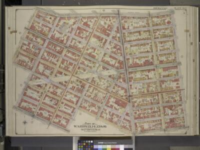 Brooklyn, Vol. 3, Double Page Plate No. 6; Part of    Wards 13, 14, 15 & 16, Sections 8, 9 & 10; [Map bounded by Metropolitan Ave.,    Leonard St., Meserole St., S. Fourth St., Keap St., Broadway; Including          Havemeyer St., S. Third St., Roebli