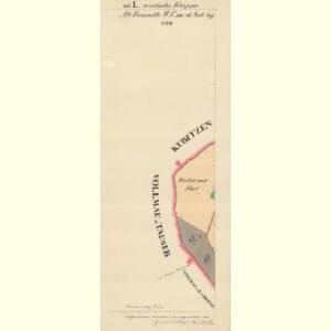 Alt Preneth - c7314-2-012 - Kaiserpflichtexemplar der Landkarten des stabilen Katasters