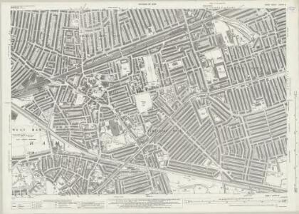 Essex (New Series 1913-) n LXXXVI.6 (includes: East Ham; West Ham) - 25 Inch Map
