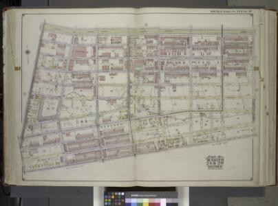 Brooklyn, Vol. 1, Double Page Plate No. 16; Part of Wards 24 & 29, Section 5; [Map bounded by Eastern Parkway, Albany Ave., East New York Ave.; Including Lincoln Road, Washington Ave., Franklin Ave.] / by and under the direction of Hugo Ullitz.