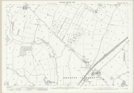 Shropshire XV.8 (includes: Hodnet; Moreton Say; Sutton Upon Tern) - 25 Inch Map