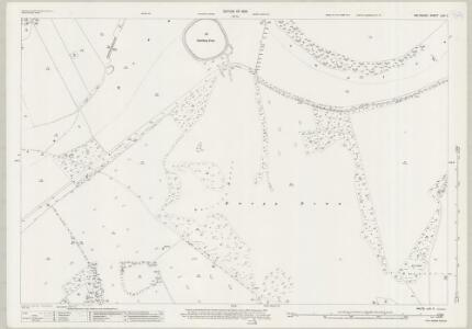Wiltshire LXX.2 (includes: Broad Chalke; Compton Chamberlayne; Ebbesbourne Wake; Fovant) - 25 Inch Map