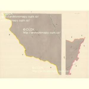 Karlsdorf (Karlowawes) - m1153-1-005 - Kaiserpflichtexemplar der Landkarten des stabilen Katasters
