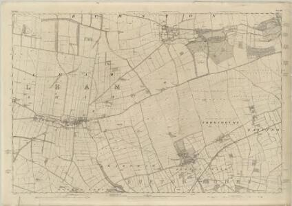 Yorkshire 145 - OS Six-Inch Map