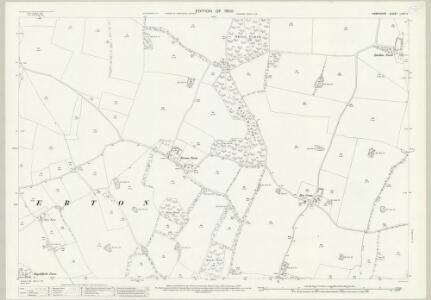 Hampshire and Isle of Wight LXVII.3 (includes: Hambledon; Soberton) - 25 Inch Map