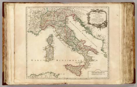 Italia Antiqua, Sicilia, Sardinia, et Corsica.