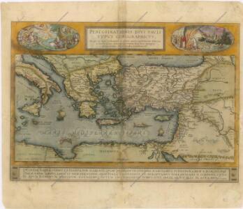 Peregrinationis divi Paulitypus Corographicus