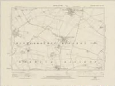 Wiltshire XXII.SW - OS Six-Inch Map