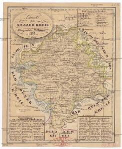 Charte vom Saazer Kreis im Königreiche Böhmen