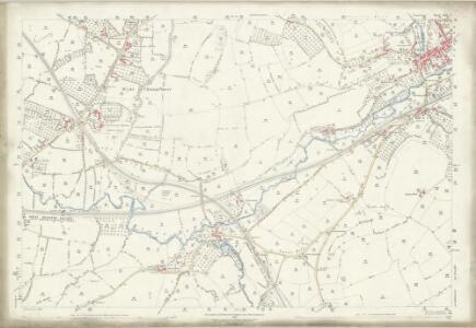 Somerset LXV.2 (includes: Bruton; Pitcombe) - 25 Inch Map