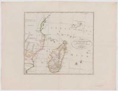 Charte von Zanguebar der Kafferküste und der Insel Madagascar : nach den neuesten und besten Hülfsmitteln