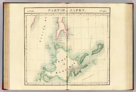 Partie du Japon. Asie 49.