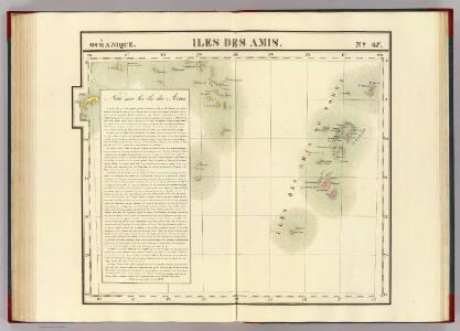 Iles des Amis. Oceanique no. 47.