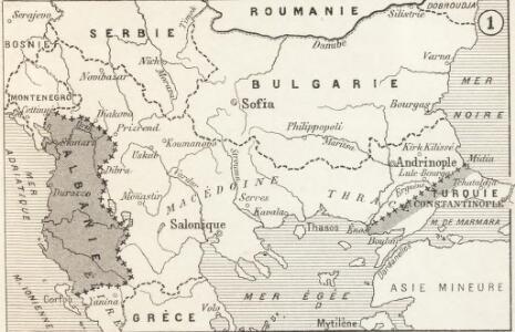Modifications territoriales dans le Balkans: Conférence de Londres ; Traité de Bukarest