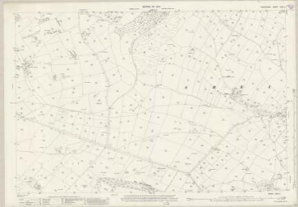 Derbyshire XXIII.9 (includes: Ashford; Flagg; Monyash; Sheldon; Taddington) - 25 Inch Map
