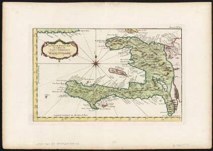 La partie Francoise de l'isle de Saint Domingue