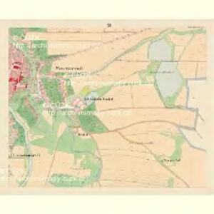 Budweis - c0964-1-011 - Kaiserpflichtexemplar der Landkarten des stabilen Katasters