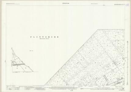 Shropshire VII.14 (inset VII.13) (includes: Bettisfield; Bronington; Ellesmere Rural; Whixall) - 25 Inch Map