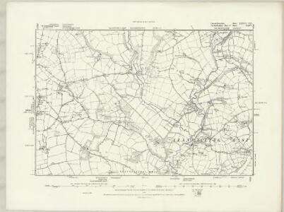 Carmarthenshire XXXVI.NW - OS Six-Inch Map