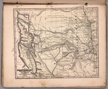 A map of the Indian Territory, northern Texas and New Mexico
